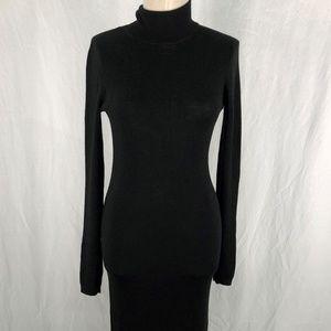 H&M Wool Blend 12 Black Long Sleeved Turtleneck
